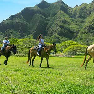 Kualoa Ranch Horseback Adventure Package