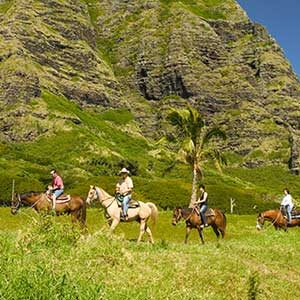 Kualoa Ranch Two Hour Horseback Riding