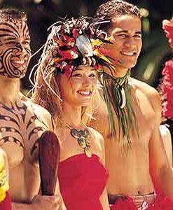 Pearl Harbor Dole Plantation Polynesian Cultural Center from Kauai
