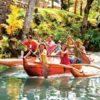 Pearl Harbor Dole Plantation Polynesian Cultural Center from Big Island