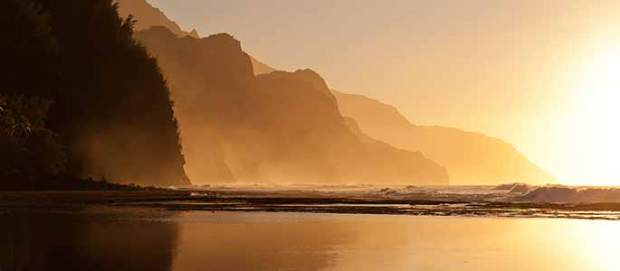 Na Pali Sightseeing & Sunset Dinner Cruise