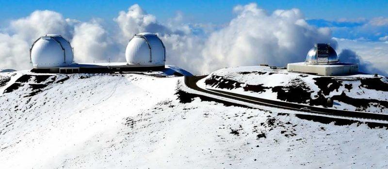 Snow in Maui